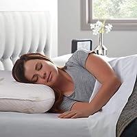 Sampri Cervical Contour Memory Foam Pillow for Sleeping,Orthopedic Pillow for Neck Pain,Contour Pillow Support for Back…