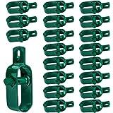 Amagabeli 20 X tendeur de Fil de clôture 3# (105 MM) câble de Verrouillage de clôture ajusteur de clôture de Jardin Kit de Ro