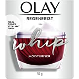Olay Ultra Lightweight Moisturiser: Regenerist Whip Day Cream (Non Spf), 50 g