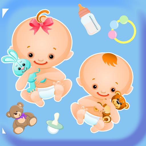 Baby-Aufkleber