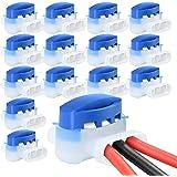 VABNEER 15 Piezas Conectores de Cable, Terminales Eléctricos Conectores- Conectores 314 Originales Impermeable para Robots Co