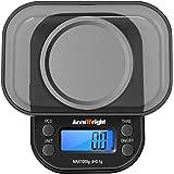 ACCUWEIGHT Mini Pocket Weegschaal voor sieraden Digitaal Eten Keukenweegschaal 1000 tot 0,1g met Tare en Kalibratie Weegschaa