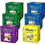 RICOLA Variety Pack Dégustation 60 Capsules Solubles de Tisanes Ricola, 6 Paquets de 10 Capsules Auto-Protégées Compatibles a