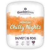 Slumberdown Chilly Nights King Size Duvet 15 Tog Winter Duvet King Size