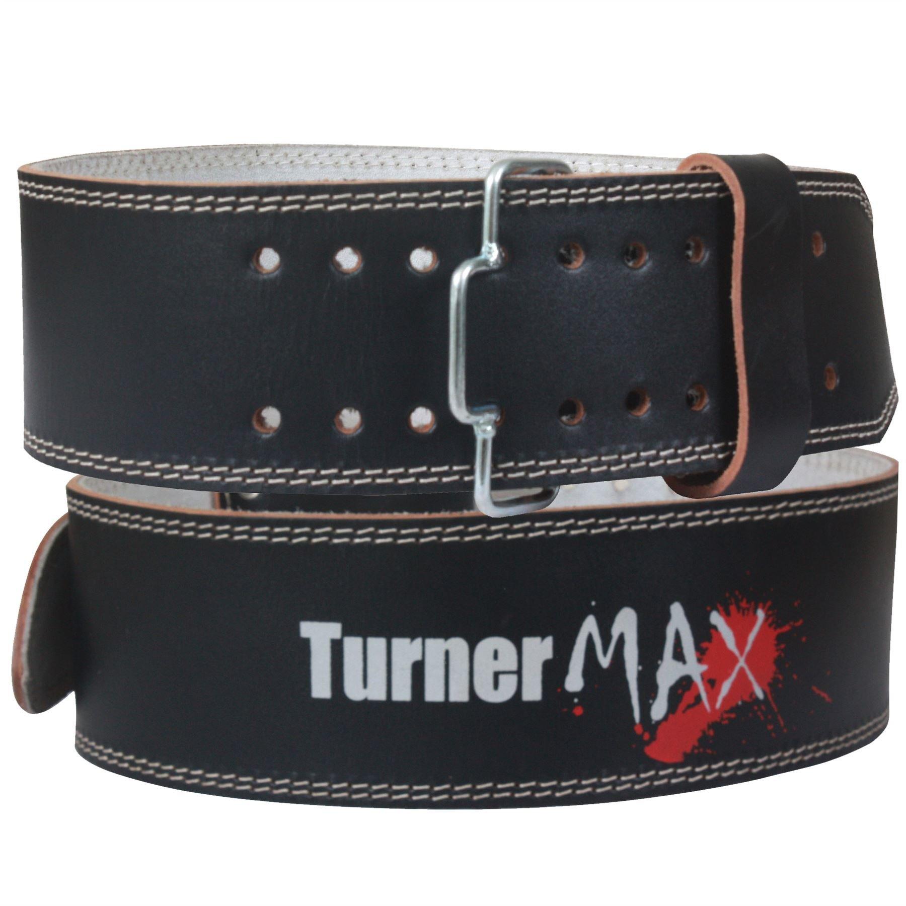 Powerlifting Belt Black Leather XL