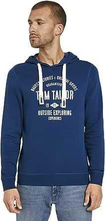 TOM TAILOR Print Hoody Pullover Uomo