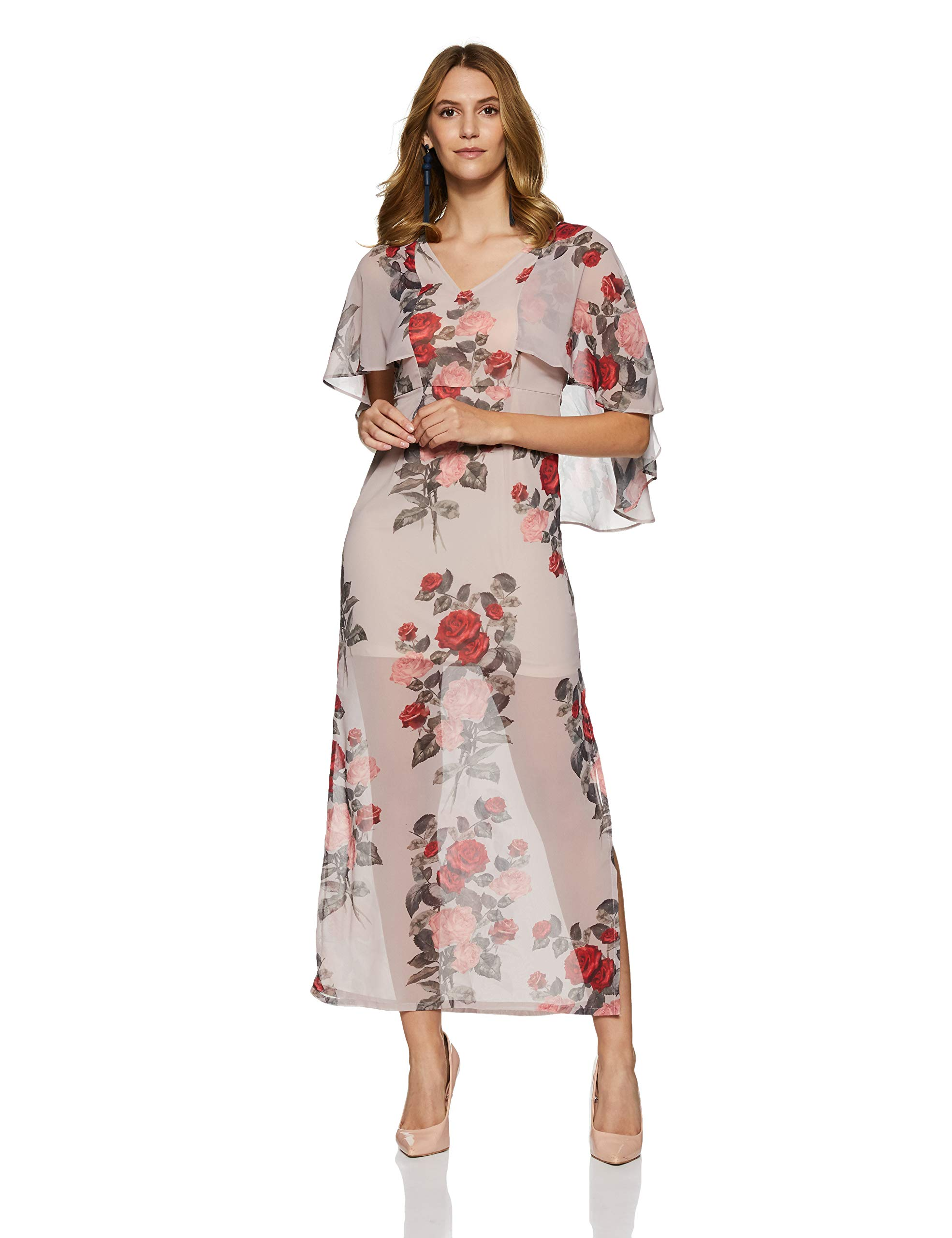 FabAlley Women's A-Line Maxi Dress