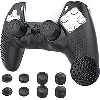 TiMOVO Cover Custodia Compatibile con PS5 Controller con 8 Copri Levette Analogiche, Playstation 5 DualSense Wireless…