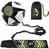 BROTOU Fútbol Trainer, Football Trainer Banda,Football Kick Trainer Banda elástica para Entrenamiento de fútbol para Estudian