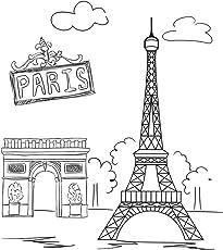 Painting Kit for Kids - Canvas Paris
