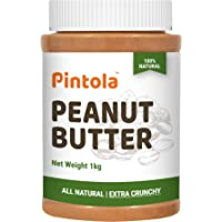 Pintola All Natural Peanut Butter (Extra Crunchy) (Unsweetened) (1kg)