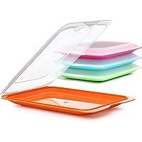 Plasticos Tatay 1180001 Boîte alimentaire hermétique 17 x 3,2 x 25,2 cm