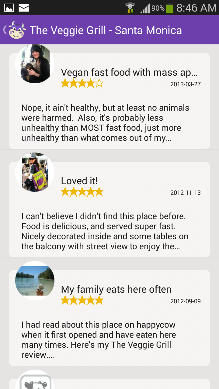d00f1cd40efd71 HappyCow Vegan Guide  Amazon.co.uk  Appstore for Android