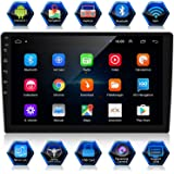 ANKEWAY 10,1 Pulgadas Android 9,1+RDS Radio de Coche 2 DIN Navegación GPS 1080P HD Pantalla Táctil WiFi/Bluetooth Manos Libre