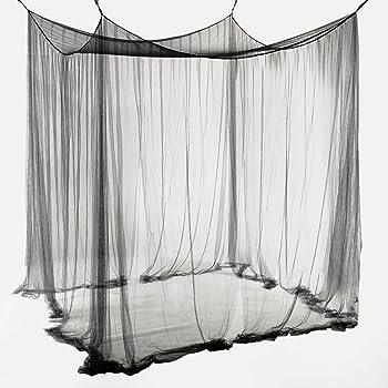 celinasun moskitonetz xxl doppelbett m ckennetz eckiger bettvorhang 2 eing nge insektenschutz. Black Bedroom Furniture Sets. Home Design Ideas