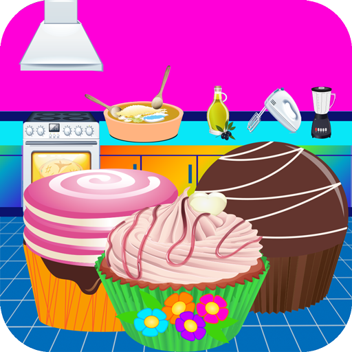 CupCake Store - Cooking Maker Games