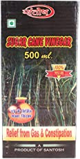 Khadi india bharat sugar cane vinager for relief from gas & constipation 500 ml extra pure & premium