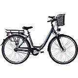 ZÜNDAPP E-Bike Damen Elektrofahrrad Alu, mit 7-Gang Shimano Nabenschaltung, Pedelec Citybike leicht mit Fahrradkorb…