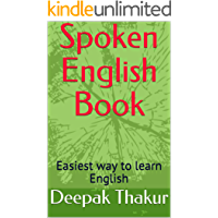 Spoken English Book: Easiest way to learn English