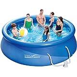 Summer Waves Piscine de 366 x 91 cm, installation rapide, idéale pour la famille, avec pompe de filtration