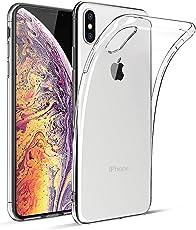 "BENNALD iPhone XS Max Hülle Liquid Crystal Soft Flex Silikon Durchsichtige Schutzhülle Case Cover-Slim TPU Bumper Tasche Passgenau Handyhülle für iPhone XS Max 6.5""(Transparent, Clear)"