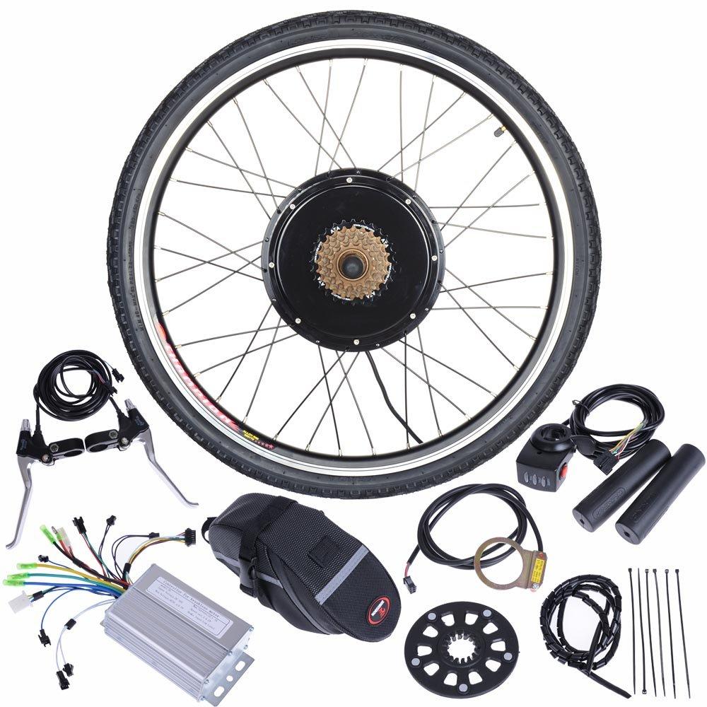 Reasejoy 36v 500w 26 Rear Wheel Electric Bicycle Motor Conversion