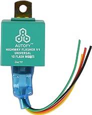 Autofy Universal Highway Indicator Flasher / Auxiliary or Fog Light Flasher