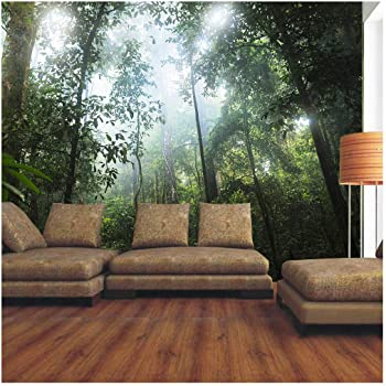 Forest Green Tropical Tree Plant Photo Wallpaper Mural Home Bedroom  Decoration