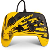PowerA Enhanced Wired Controller for Nintendo Switch – Pikachu Lightning, Gamepad, Wired Video Game Controller, Gaming…