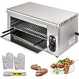 VEVOR 2000W Salamandre Electrique Professionnelle Toaster Hamburger Cuisine Grille Pain Toaster Pour Faire Fondre Du Fromage
