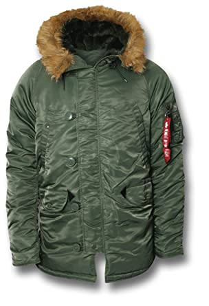 Alpha Industries Extreme Cold Weather N3B Parka Men's Jacket ...