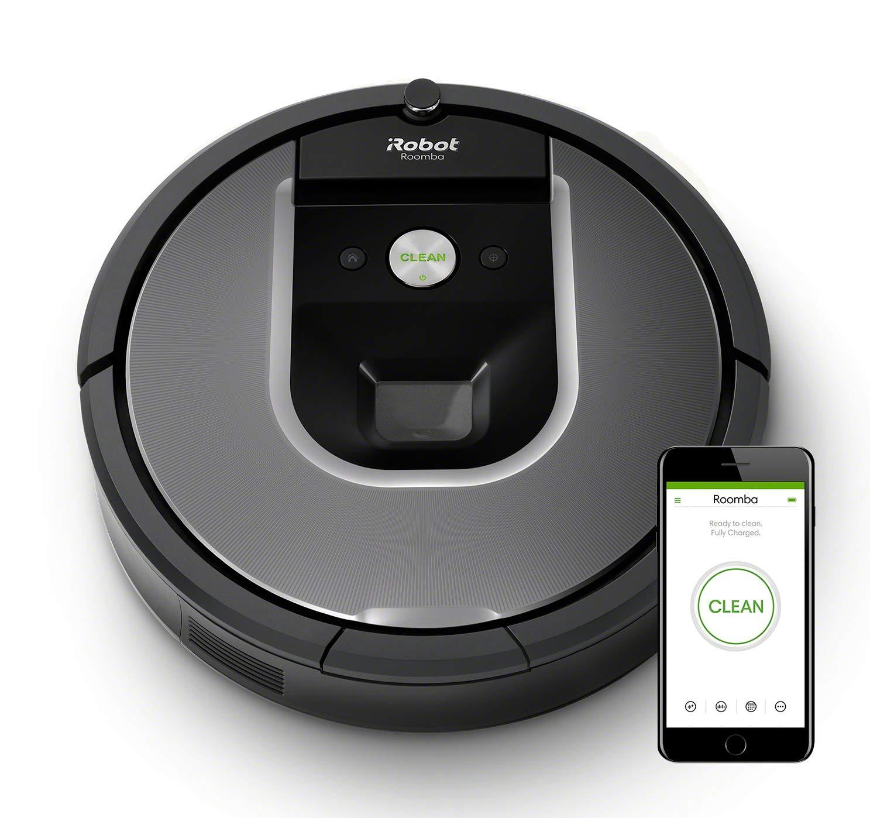 iRobot Roomba Robot Aspirapolvere, Sistema di Pulizia con Dirt Detect e Spazzole Tangle-Free, Adatto a Pavimenti e Tappeti, Ottimo per i Peli degli Animali Domestici, Connessione Wi-Fi