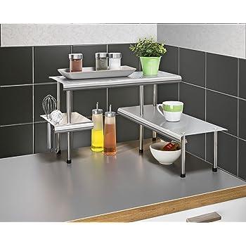 etag re d 39 angle blanche pour la cuisine salle de bain ou sur un bureau id ale pour gagner. Black Bedroom Furniture Sets. Home Design Ideas