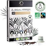 ☘️ Nespresso Kapseln Kompatibel   BIO FAIRTRADE Arabica Kaffee in Kapseln Biologisch abbaubar   Premium Probierset mit…