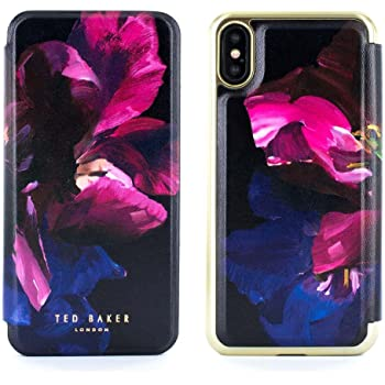 5086e2c80 Official TED BAKER® SHELEEN Fashion Branded Mirror Folio Case for iPhone XS    X