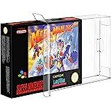 Link-e : 10 X Boitier de protection plastique pour boite de jeu compatible avec console Super nintendo (SNES) et Nintendo 64