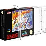 Link-e : 10 X Custodia protettiva in plastica per scatole da gioco Super Nintendo SNES o Nintendo 64 N64