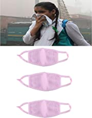 3ps Pollution Free Mask for Bikers,Students & Outdoor Face Mask, Adjustable Size, Washable