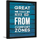 Chaka Chaundh - Life Motivational Quotes Frames Poster for OFFICE WALL, SCHOOL, STUDY ROOM, COLLEGE, INSTITUTE, STUDENT, ENTR