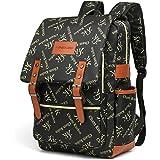 HASAGEI Mochila vintage unisex mochila mochila mochila casual viaje escolar portátil Tablet Bolsas