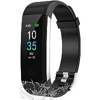 LEBEXY Fitness Armband Wasserdicht IP68 | Fitness Tracker Uhr | Smartwatch Schrittzähler Aktivitätstracker…
