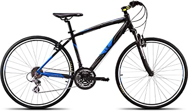 UT H2 26T 700 Cross 21 Speed Junior Cycle 18-inches (Black & Blue)