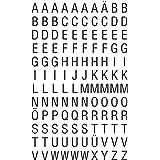 AVERY Zweckform 3720 letterstickers 240 stickers (glanzende etiketten van A-Z, lettergrootte 6,5 mm, weerbestendige folie, ze
