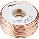 Amazon Basics - Cable para altavoces (calibre 16, 2x1,3 mm², 30,48 m)
