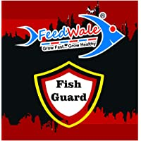 FeedWale Fish Guard Cures Fungal and Bacterial Infection for Fishes in Ponds & BioFloc Aquaculture Treatment