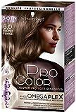 Schwarzkopf - Pro Color - Coloration Permanente Cheveux Anti-Casse - Blond Foncé 6.0