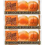 St Pierre Brioche Buns Pack of 3