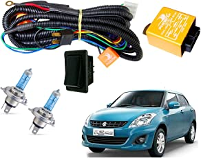 Autopearl Halogen Headlamp Wiring Harness Kit for Maruti Suzuki Swift Dzire (Set of 3)