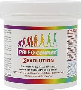 Paleocomplex Revolution - Versione potenziata di Paleocomplex, arricchita di potenti antiossidanti con un effetto antiaging