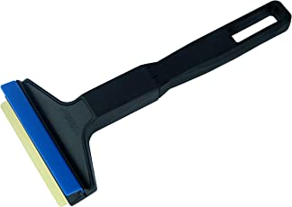 L&P Car Design GmbH L&P A053 Eiskratzer Murska Eisschaber Schwarz Blau Messingklinge Messingschaber Murska Original aus Finnland Eis Schaber Kratzer Top Qualität 90mm (L&P A053 Schwarz-Blau)